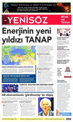 2 Mayıs 2020 gazete manşetleri