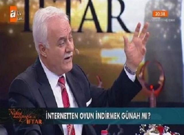 Nihat Hatipoğlu'nu afallatan sorular