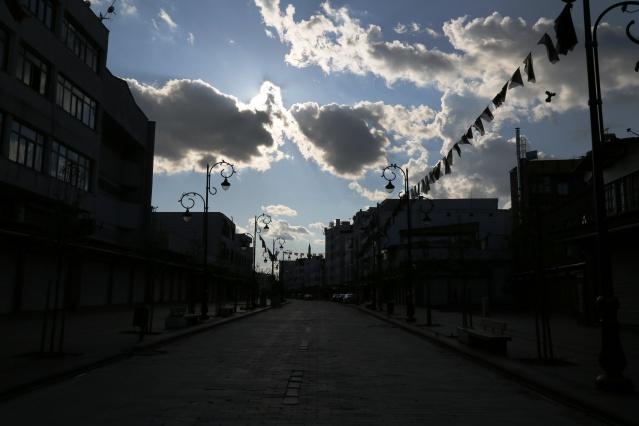 Fotoğraflarla Diyarbakır'da sokağa çıkma yasağı