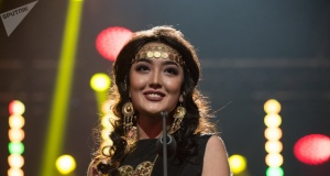 Miss Kazakistan 2018 Yarışması'ndan renkli kareler