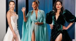 92. Oscar Ödülünde ünlülerden dekolte şov!