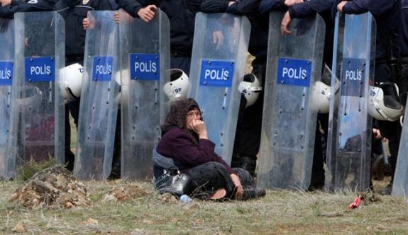 Konteyner kenti protesto yasağı uzatıldı