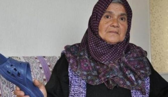 Mahkeme 'anne terliği'ni silah saydı
