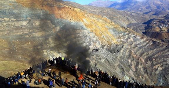 Şirvan madeninde yine göçük