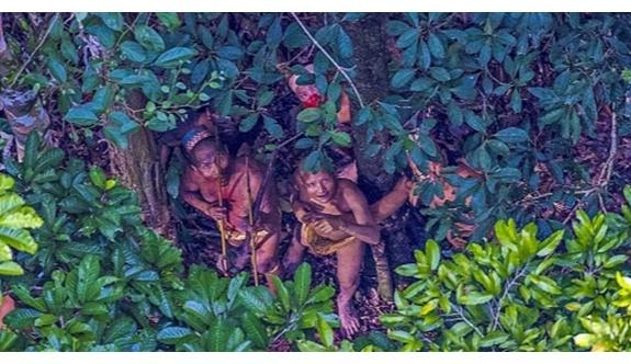 Amazon'da yeni kabile bulundu!