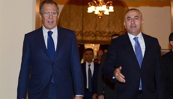 Çavuşoğlu ve Lavrov bir araya geldi