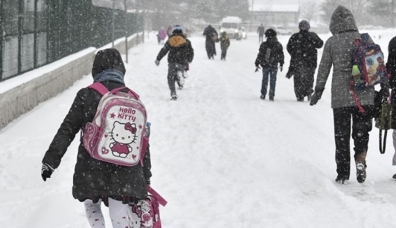 34 ilde okullara kar tatili