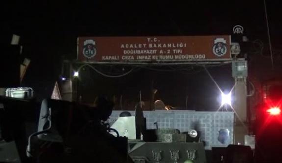 Ağrı'da cezaevine bombalı saldırı