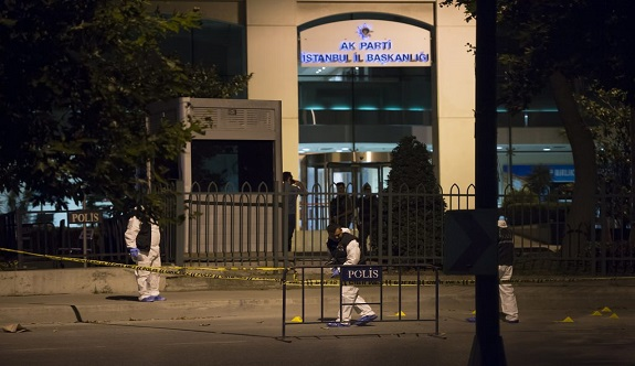 AKP il binası yakınında patlama!