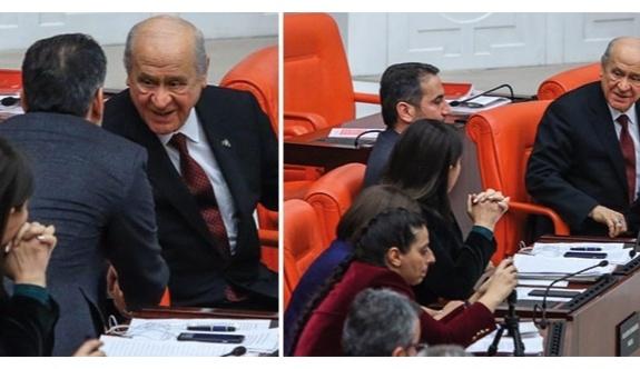 Bahçeli, HDP grubuyla sohbet etti...
