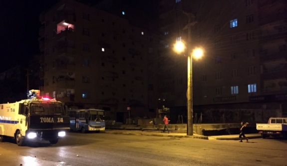 Diyarbakır'da polis hareketliliği