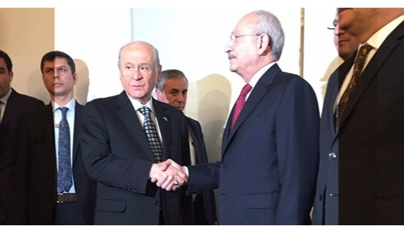 Kılıçdaroğlu ile Bahçeli görüşmesi sona erdi