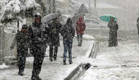 Meteoroloji'den kuvvetli yağış ve kar uyarısı