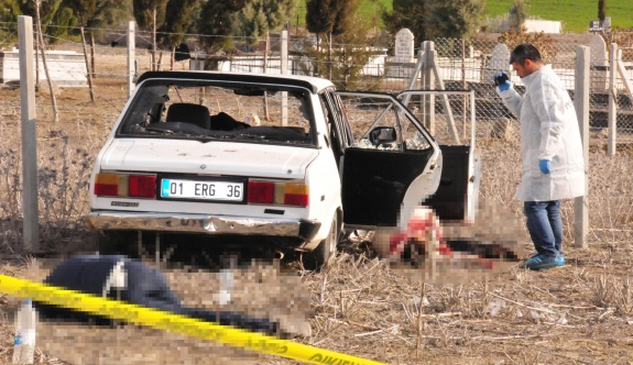 Mezarlıkta infaz: 3 ölü