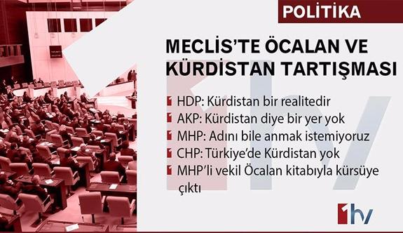 Öcalan kürsüde 'Kürdistan'ın varlığı' tartışılıyor!