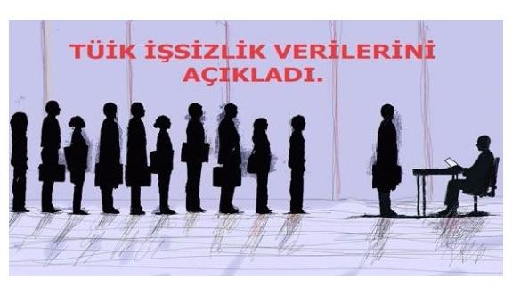 TÜİK işsiz sayısını 3 milyon 600 bin olarak açıkladı