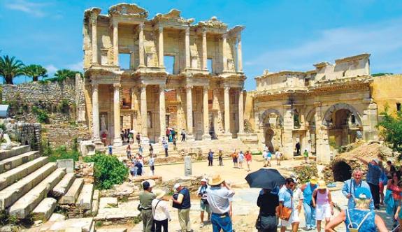 Turizmde büyük kayıp