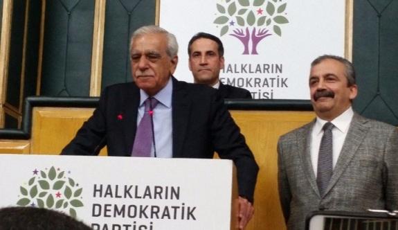 Ahmet Türk, HDP grup toplantısına katıldı