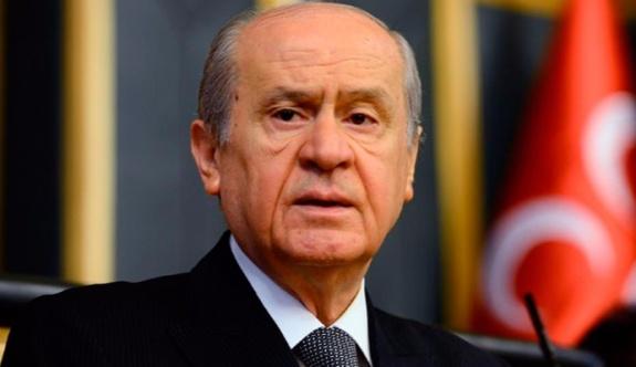 """Bahçeli; """"Ahmet Türk'ün tahliye edilmiş olmasından memnuniyet duydum''."""