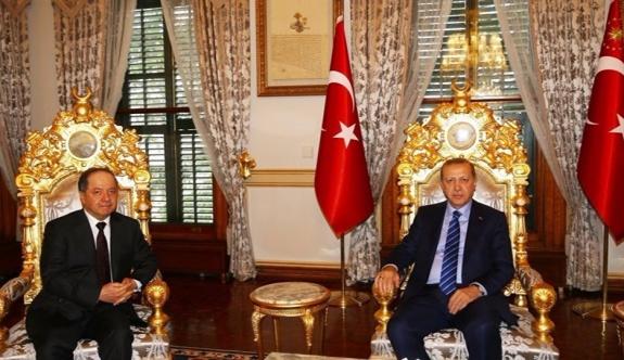 Barzani-Erdoğan görüşmesinin detayları...