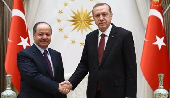 Erdoğan-Barzani görüşmesi pazar günü