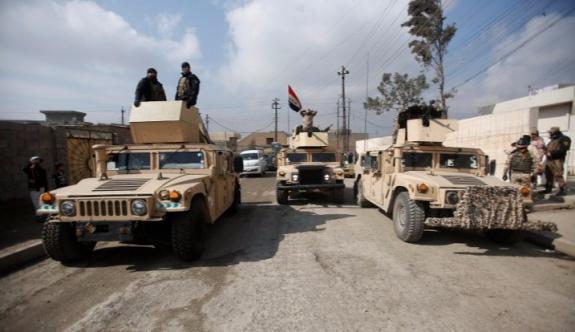 Irak ordusu Musul havalimanına girdi