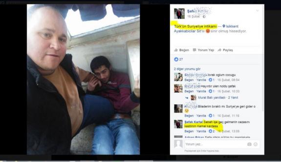 """İşçisini dövdü, """"Türk'ün Suriyeliye intikamı"""" diyerek sosyal medyada paylaştı!"""