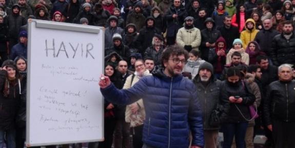 Kar altında ders: Onlara benzersek insanlıktan utanırız