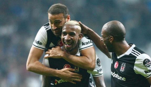 Lider Beşiktaş 3 golle kazandı