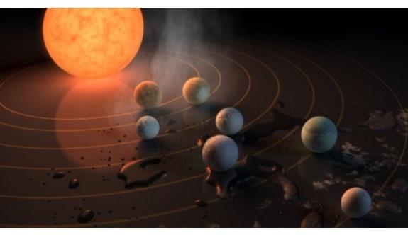 NASA'dan tarihi açıklama: 7 yeni gezegen keşfedildi