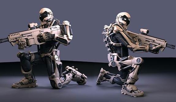 TSK'ya 'robot askerler' geliyor!