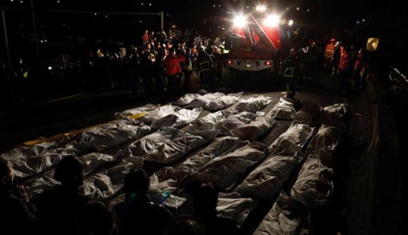 Yolcu otobüsünün devrilmesi sonucu 28 kişi hayatını kaybetti, 16 kişi ise yaralandı.