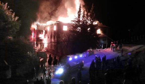 Yurt yangınında  dernek yöneticileri tekrar tutuklandı