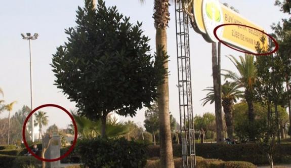 Zübeyde Hanım anıtına saldırı düzenlendi