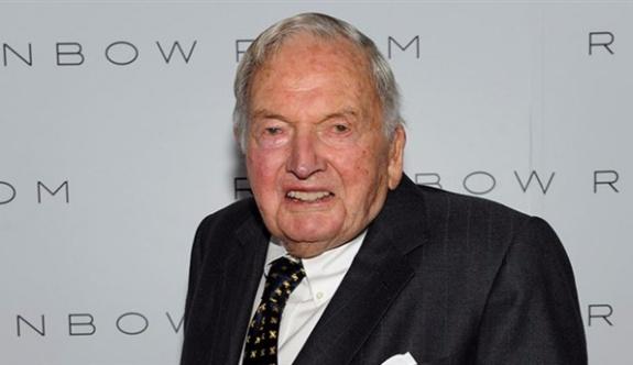 ABD'li ünlü milyarder David Rockefeller hayatını kaybetti!