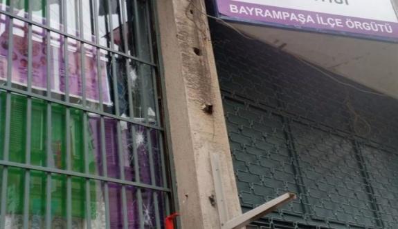 İstanbul'da HDP binasına saldırı