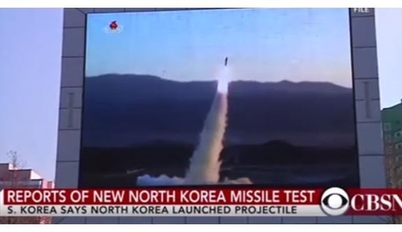 Kuzey Kore aynı anda dört roket birden fırlattı!