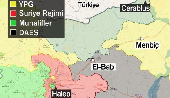 Menbic'de Flaş Gelişme: Suriye Ordusu'na devredildi