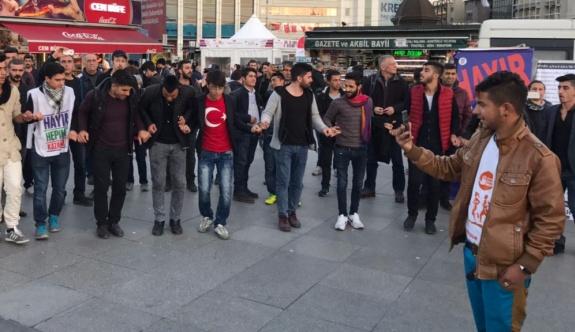 ÜLKÜCÜLERDEN HDP'YE DESTEK