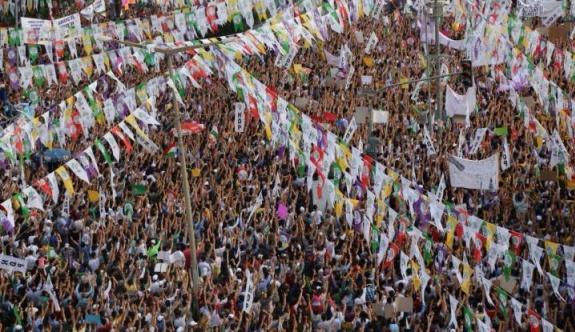 HDP'nin final mitingine katılım çağrısı