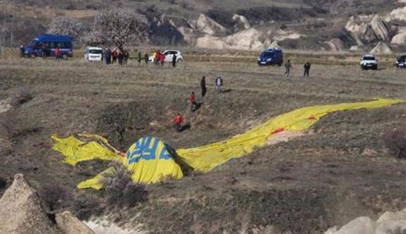 Kapadokya'da yine balon faciası