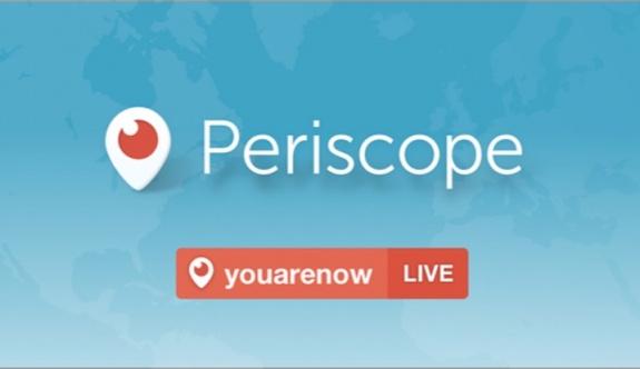 Periscope'un Türkiye'deki faaliyetlerine durdurma kararı verildi