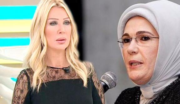 Seda Sayan'dan, Emine Erdoğan'a uzlaşı teklifi!