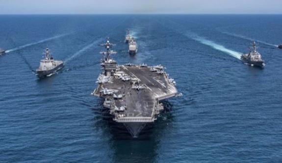 ABD, KDHC'ye karşı bir uçak gemisi daha gönderdi