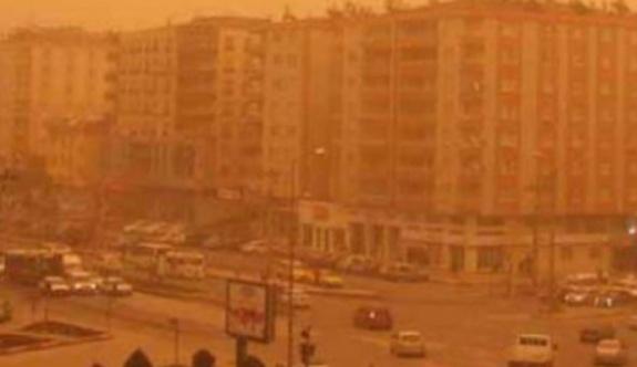 Meteoroloji Genel Müdürlüğü,  4 il için toz fırtınası uyarısı yaptı