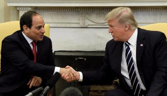 Sisi'den Trump'a övgüler
