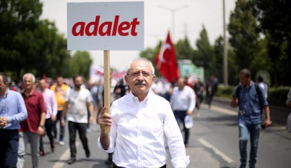 Adalet Yürüyüşü'nün dördüncü gününde Kemal Kılıçdaroğlu'ndan açıklama