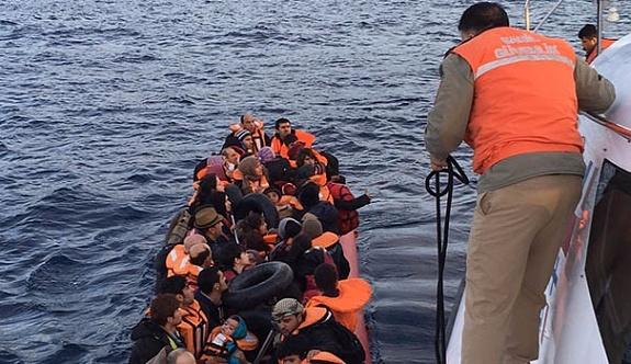 Antalya'nın Kaş ilçesinde 32 Suriyeli yakalandı