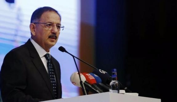 Bakan Özhaseki; 'En büyük hırsızlıklar imardan geliyor'