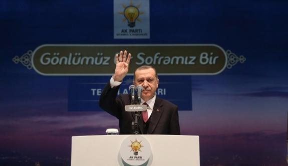 Erdoğan: Yeni bir iftira daha atmışlar, 'Tayyip Erdoğan'ın 3 milyar dolarlık hazinesi var' diye